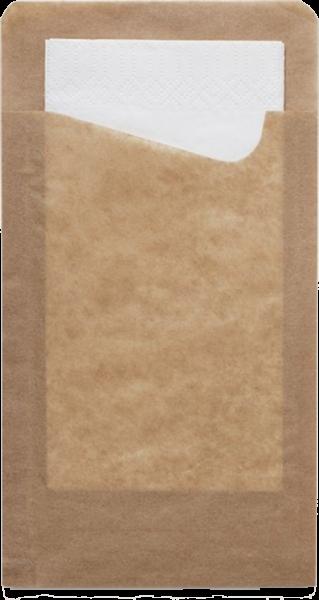 Snack Sachetto inkl. weißer 2-lg. Serviette