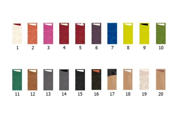 Duni Sacchetto® Zelltuch-Servietten 19x8,5 cm / inkl. Serviette