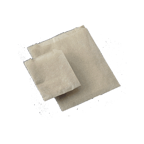 Graspapier Tüten natur