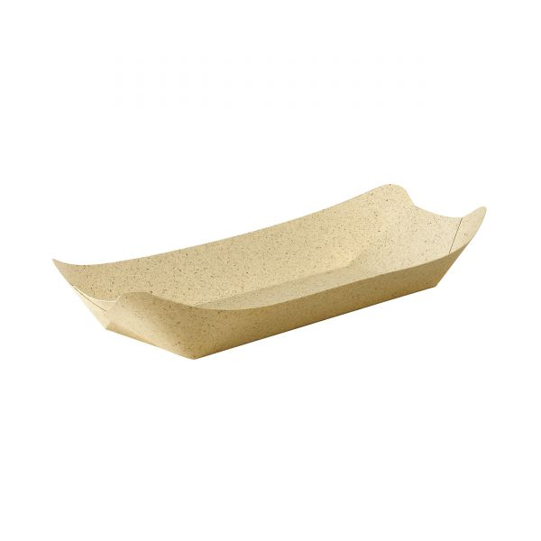 Graspapier Snackschale L 285mm x 135mm 500 Stück
