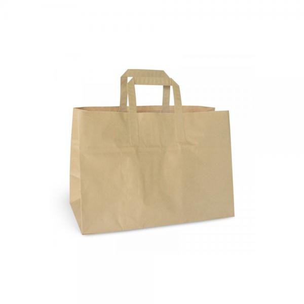Take-Away Tasche mit Henkel 80g (350x170x245)